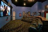 Movie Theater with Recliners and Bar Seating