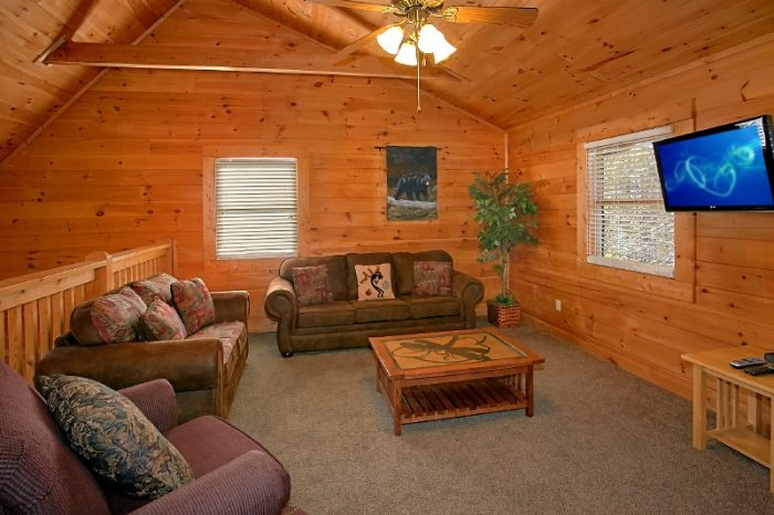 Gatlinburg views 3 bedroom cabin rental with pool for 10 bedroom cabins in tennessee