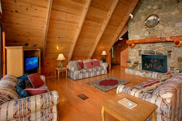 Cabin with Wood Burning Fireplace and Views - Grand Pinnacle