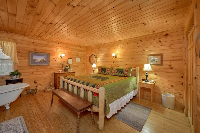 Affordable 1 Bedroom Cabin with King Bed - Gray's Place