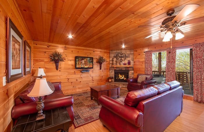 Breathtaking View Cabin In Pigeon Forge Dollywood Cabin