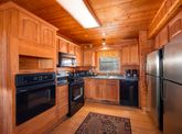 Cabin with 2 stoves and 2 fridge and freezers