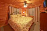 Cabin with 2 living areas and king beds