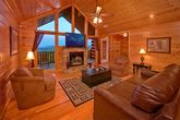 8 bedroom cabin with den and fireplace