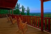 Cabin with mountain views and 2 hot tubs