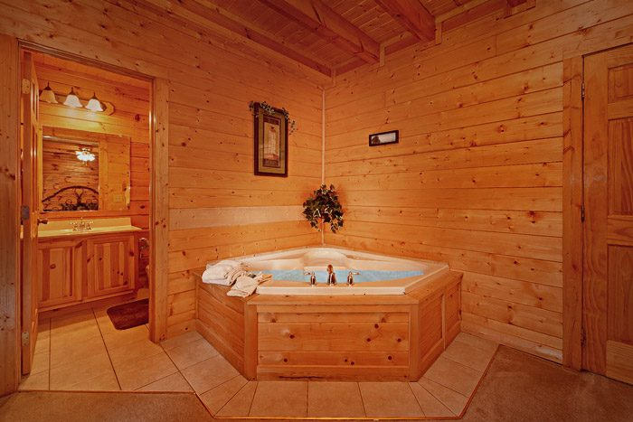 Cabin with Jacuzzi - Great Escape