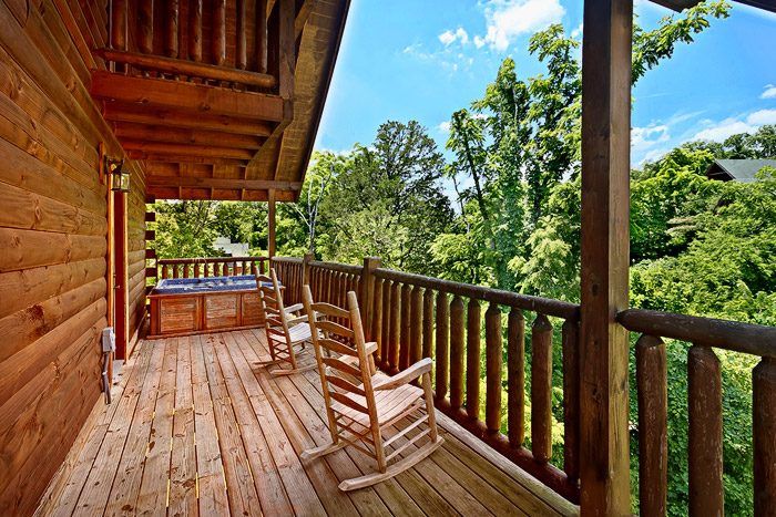 Cabin with Deck - Great Escape