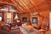 Smoky Mountian Cabin Rental with Living Room