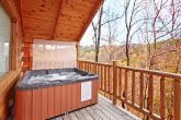 Relaxing Hot Tub in Smoky Mountain Cabin Rental
