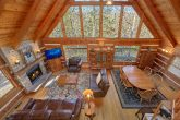 5 Bedroom Cabin with Wood Burning Fireplace.