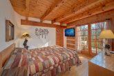Main Level Queen Bedroom with Flat Screen TV