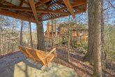 Gatlinburg Cabin with Covered Swing Sleeps 14