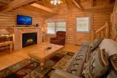 Cabin with Gas Fireplace and Sleeper Sofa