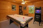 Cabin with Arcade Game, Air Hockey and Game Room