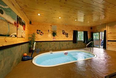 Private Indoor Swimming Pools private indoor swimming pool cabins in gatlinburg, tn