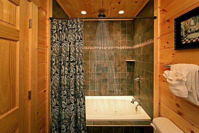 Cabin with Luxurious shower - Hickory Splash