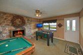Game Room in Gatlinburg Cabin