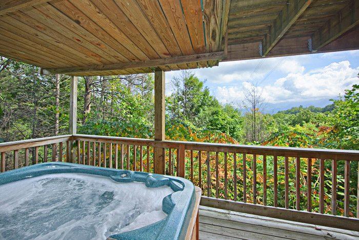 Gatlinburg Cabin with Views of the Smokies - Hidden Peaks