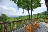 Gatlinburg Cabin with View of Ski Lift