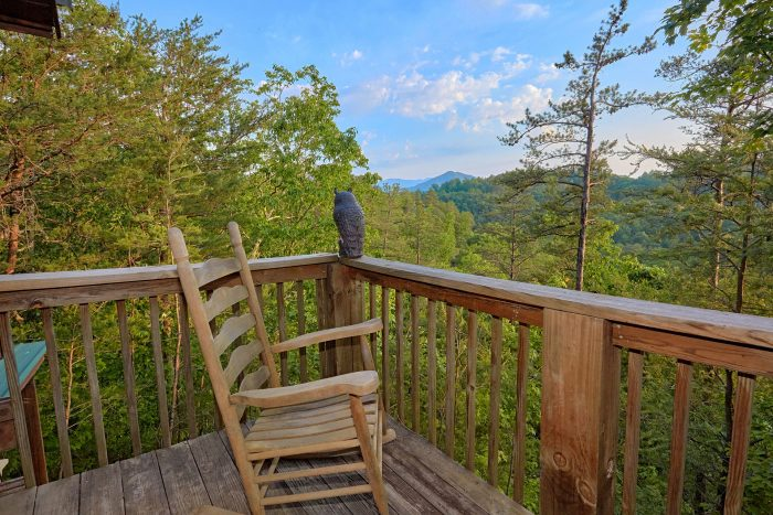 Deck with Rocking Chairs - Hide-A-Way Point
