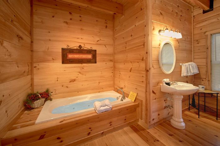 ... Luxury Smoky Mountain Cabin Rental With 3 Baths   Hillside Haven ...