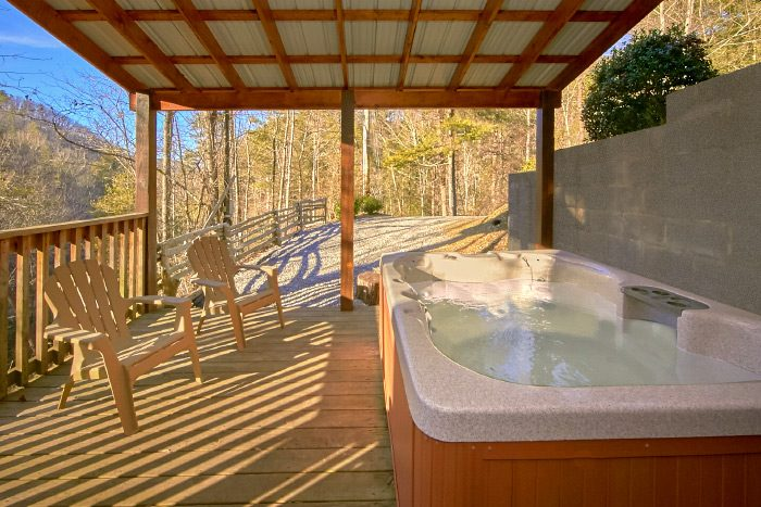 3 Bedroom Smoky Mountain Cabin With A Stream