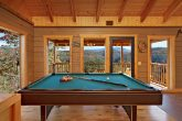 1 Bedroom Smoky Mountain Cabin with Pool Table