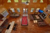 Master Suite with private deck in wears valley