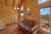 Wears Valley cabin with hot tub on covered deck