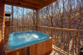 Private Hot Tub with Wooded View on Deck