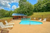 Cabin with Outdoor Swimming Pool Access