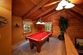 Cabin with Pool Table in Loft