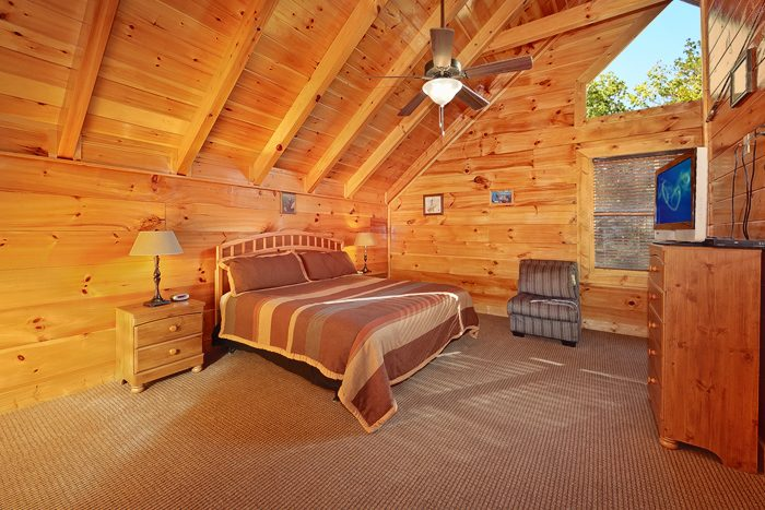 4 Bedroom Cabin with 4 King Bedrooms - Hook, Line and Sinker