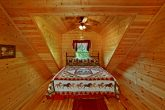 King Bed in Top Floor of Cabin