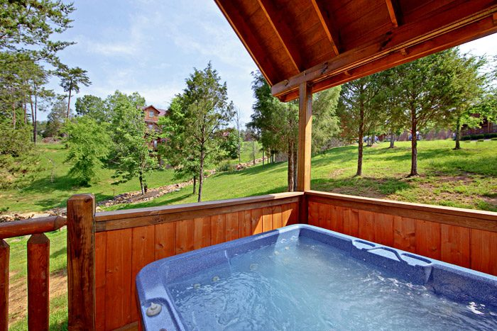 Beautiful Land View from Hot Tub - Horsin Around