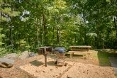Cabin with grill, picnic table, Hot Tub and View