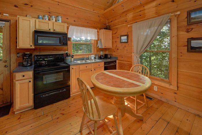 Cabin with Main Level Open Floor Plan - Huggable Hideaway