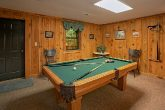 Gatlinburg 3 Bedroom Cabin with Pool Table