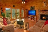 Rustic Honeymoon Cabin with Fireplace
