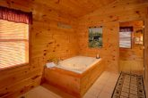 Honeymoon Cabin with Private Jacuzzi Tub