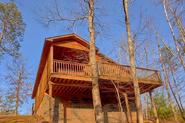 1 Bedroom Cabin with wooded View from Deck - I Don't Want 2 Leave