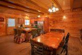 8 Bedroom Cabin Sleeps 28 with Plenty of Seating