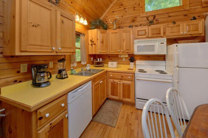 1 Bedroom Cabin Sleeps 6 Fully Equipped Kitchen - Jasmine's Retreat