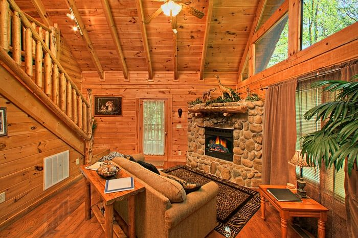 Private cabin in the smokies gatlinburg pigeon forge for Private secluded cabins in pigeon forge