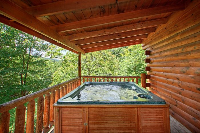 Smoky Mountain Cabin with Hot Tub - Jungle Boogie