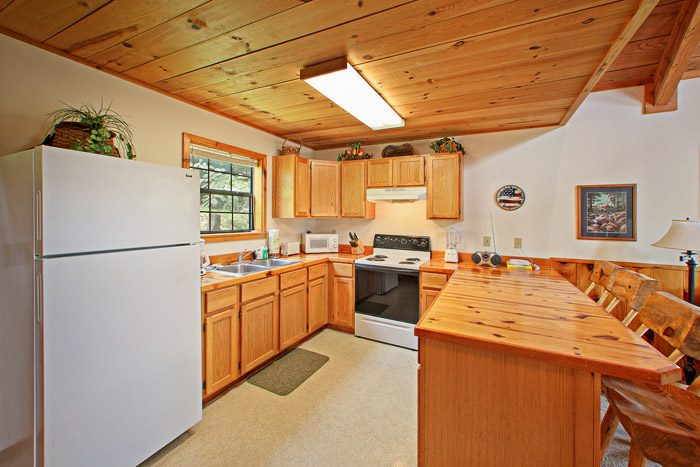Fully Equipped Kitchen - Kayla's Hideaway