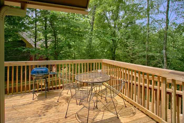 Luxury Cabin with Furnished Deck - Happy Trails
