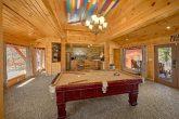 Pool Table 4 Bedroom Cabin in Gatlinburg
