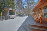 Large Spacious Back Deck with Yard