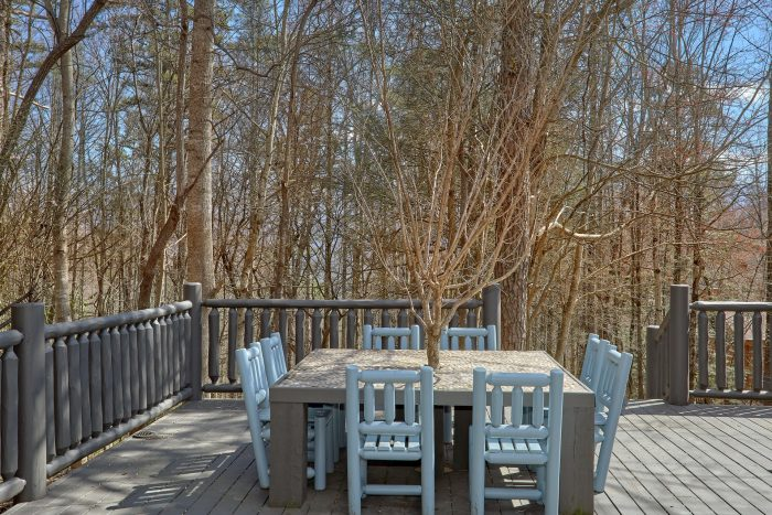 Comfortable Outdoor Table on Large Deck - La Dolce Vita